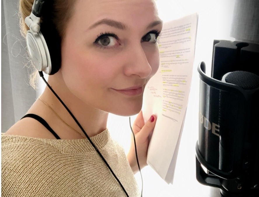 Sprecherin, Sprechen, Synchronsprecher, Nina-Carissim Schönrock