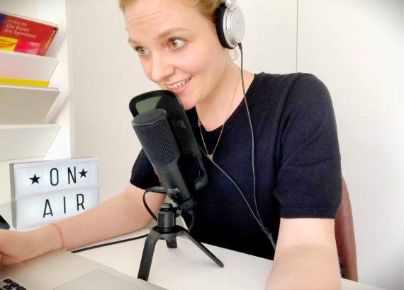 Mikrofon für deinen Podcast, Nina-Carissima Schönrock