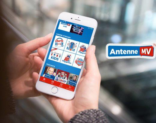 Antenne Mecklenburg-Vorpommern, App, Covid allein zu Haus, Podcast, iPhone