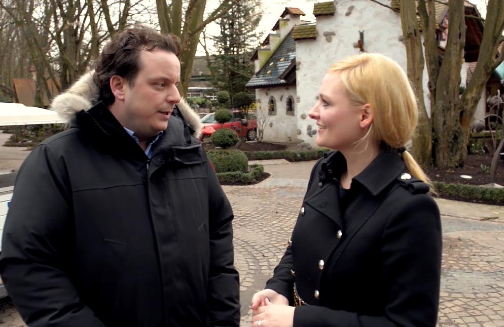 Nina-Carissima Schönrock, Moderatorin, Europa-Park, Michael Mack, Interview