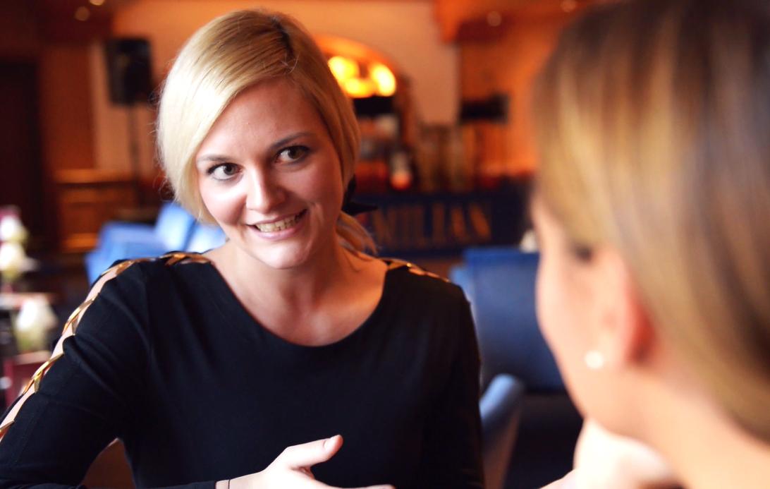 Nina-Carissima Schönrock, Moderatorin, Moderation