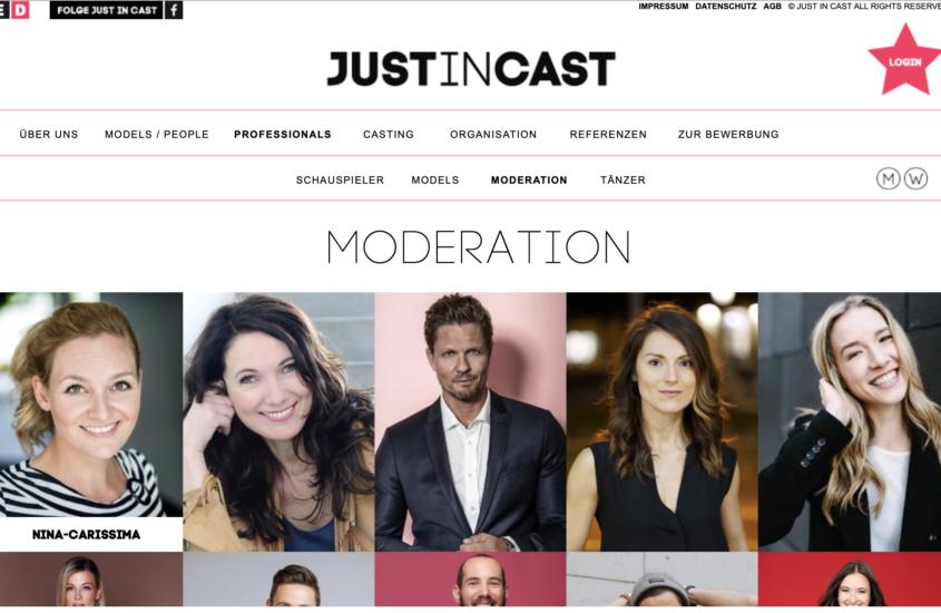 Moderatorin Nina-Carissima Schönrock neu bei Agentur Just In Cast