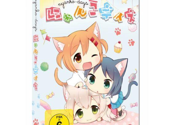 Nyanko Days, Animeserie, DVD, TV-Serie, Nina-Carissima Schönrock, Synchronsprecherin