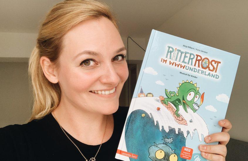 """""""Ritter Rost im WWWunderland"""": Hörspielsprecherin Nina-Carissima Schönrock dabei"""